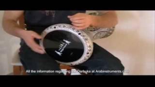 Solo darbuka / doumbek 23 - Gawharet El Fan Darbuka - belly dance -  ArabInstruments.com - طبلة