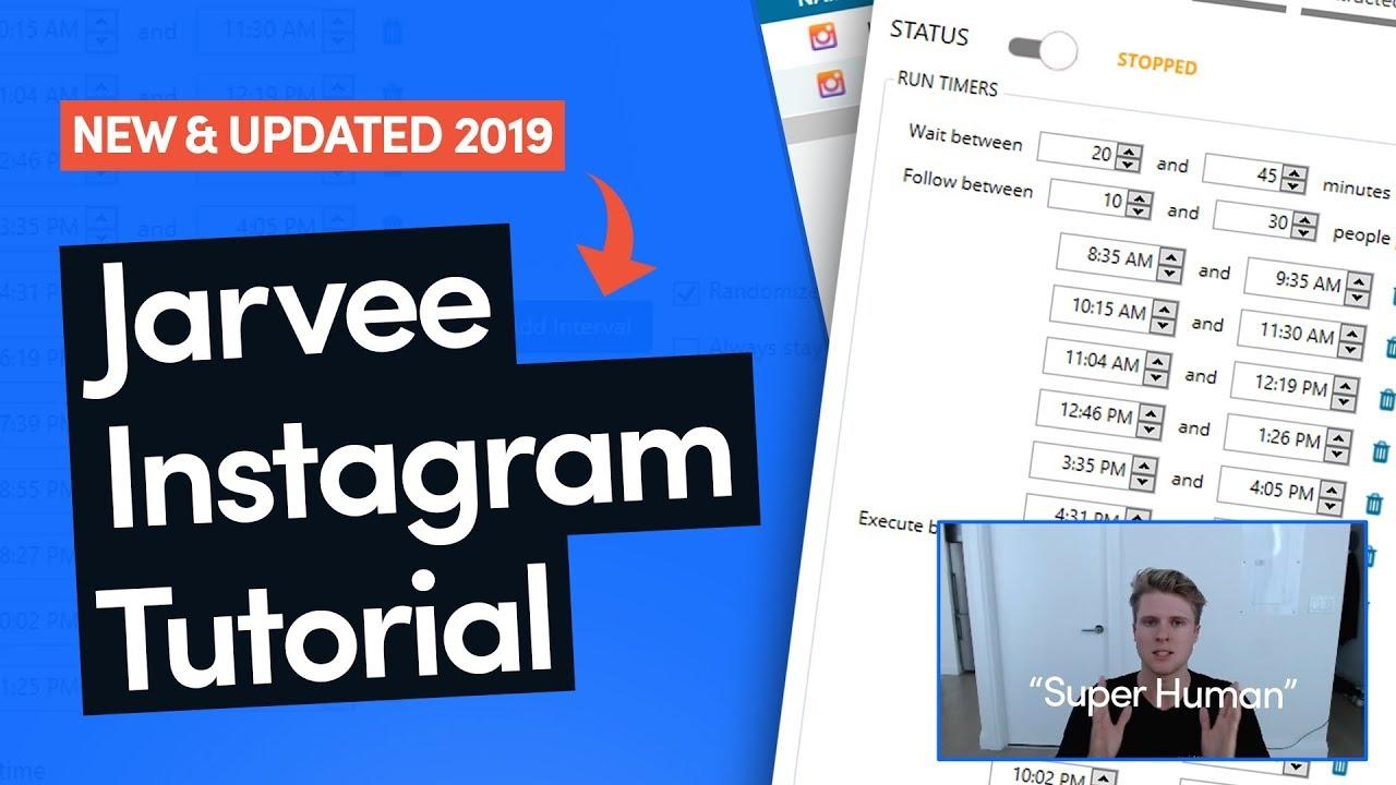 The Best Jarvee Instagram Settings 2019 — Beginner Friendly