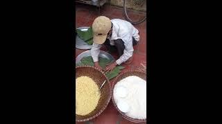 Cách Gói Bánh Chưng Dài Đặc Biệt - Bánh chưng xanh