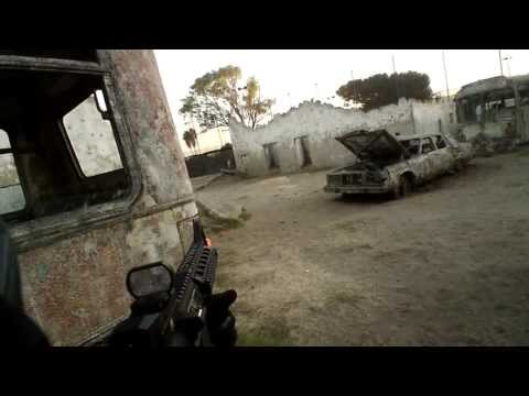 "Airsoft Hollywood Sports Park Objective Mission ""DOMINATION"""