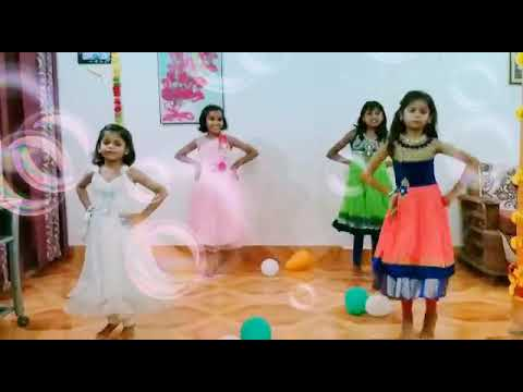 Desh Rangeela amazing dance by......... Sweet little girls😘