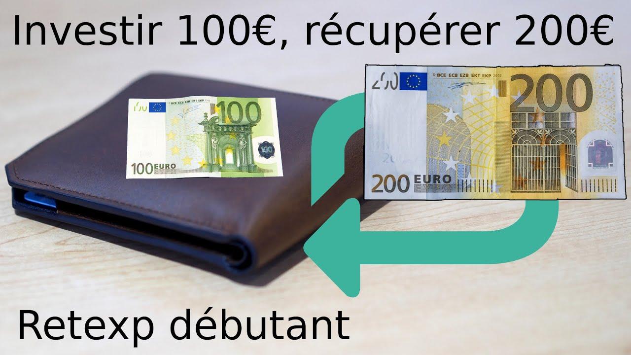 100 € investind în bitcoin