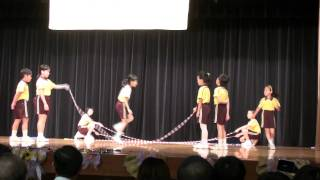 慧慧花式跳繩表演