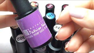 Обзор моих гель лаков PATRISANAIL , выкраска, идеи в дизайне ногтей, советы.