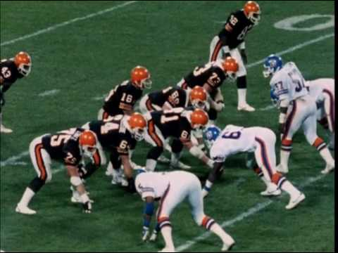 1984 Broncos at Browns Game 3