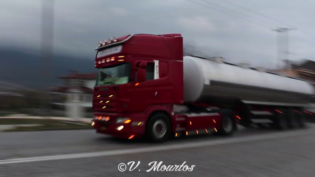 Daf Scania Compilation With Different Trucks 7 Scania Volvo Man Daf More Truck Film Mix