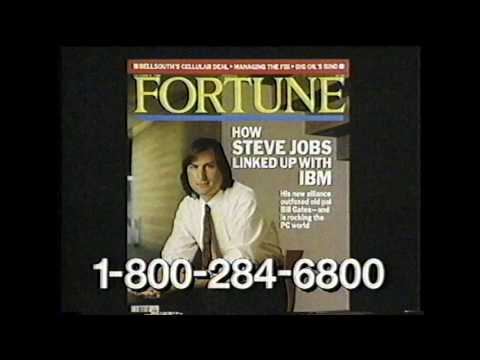 Fortune Magazine commercial (1991)