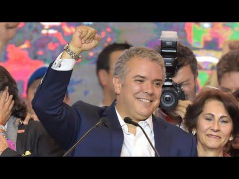 المرشح اليميني المتشدد إيفان دوكي يفوز في الانتخابات الرئاسية الكولومبية  - نشر قبل 1 ساعة