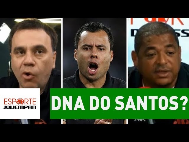 JAIR VENTURA tem o DNA do SANTOS? Debate ESQUENTA!