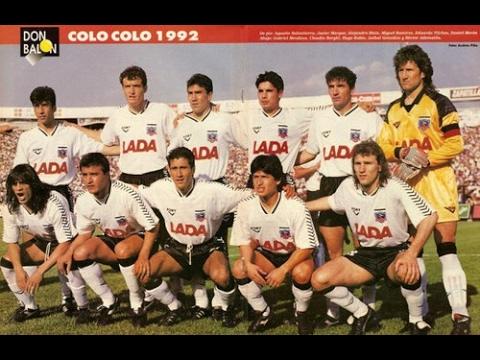 Colo Colo vs Puebla Copa Interamericana 1992
