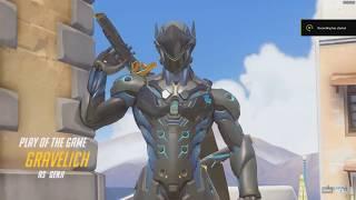 Overwatch Genji Quadruple