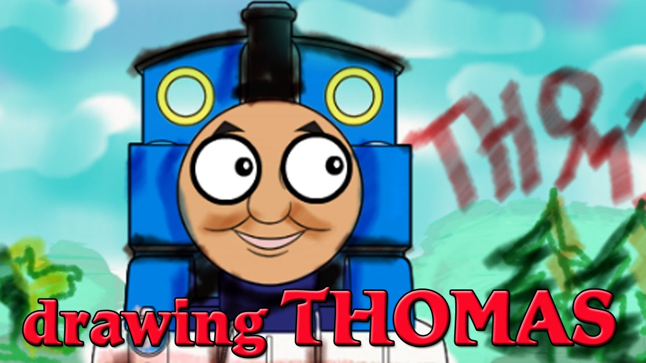 Thomas & Friends drawing from Nick Jr co uk - YouTube