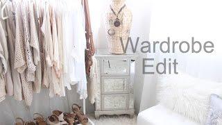 Creating A Capsule Wardrobe: The Wardrobe Edit