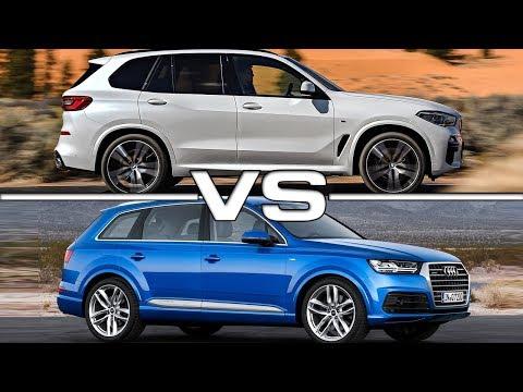 2019 BMW X5 vs 2018 Audi Q7 Technical Specifications