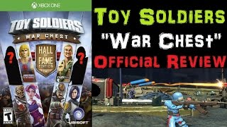 """Toy Soldiers """" War Chest """" Official Review Xbox One Gameplay - AMAZING"""
