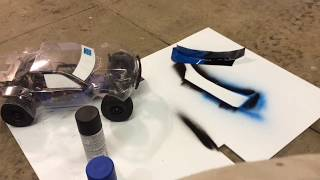 How to PAINT your RC Body! Cheap And Easy! (Plasti dip) - Trx Slash 101