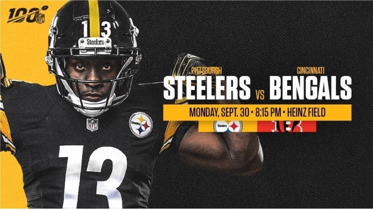 Pittsburgh Steelers Vs Cincinnati Bengals Monday Night
