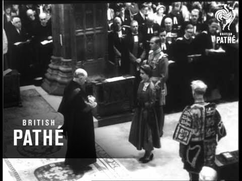 Scotland Welcomes The Queen (1953)