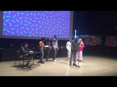 Academy of the Pacific Rim Public Charter School Slam Poetry at ICA