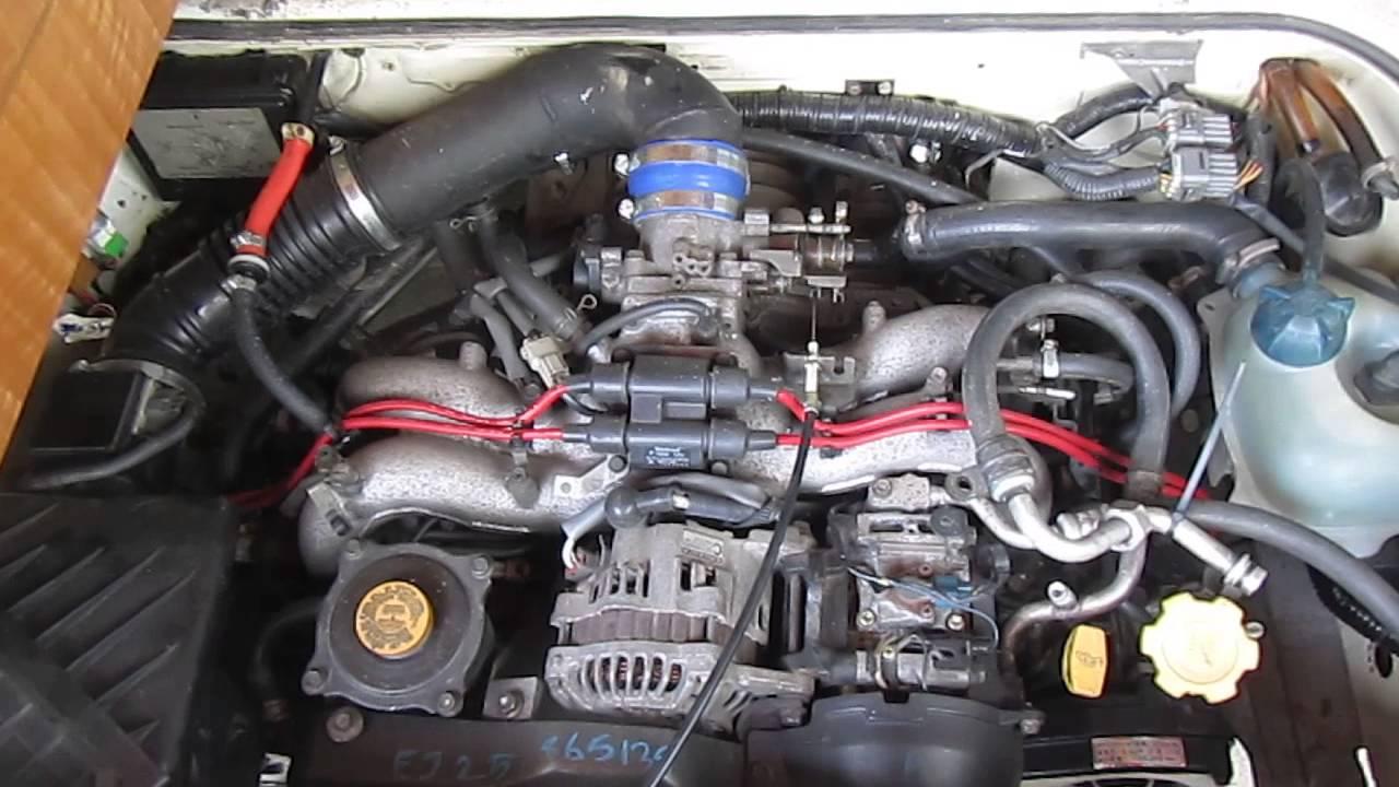 Drive Nacho Drive » Subaru Engine Conversion