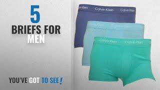 Top 10 Briefs For Men [2018]: Calvin Klein Men's Briefs Pack Of 3