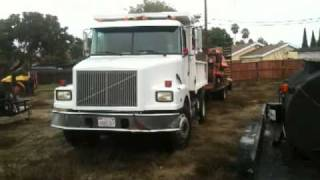 MOVING MY BOB TAIL DUMP TRUCK GYPSY PAVING