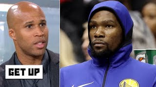KD 'wants something that doesn't exist' with the Warriors - Richard Jefferson | Get Up