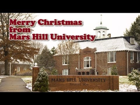 Merry Christmas from Mars Hill University 2013
