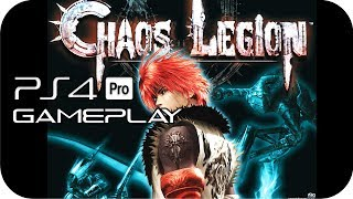 Chaos Legion PS4 Gameplay No Commentary [PS2 for PS4]