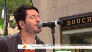 "Owl City performs ""Fireflies"" on Today Show"