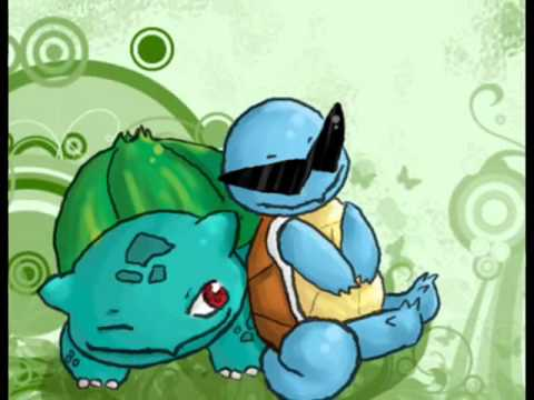 Bulbasaur and squirtle