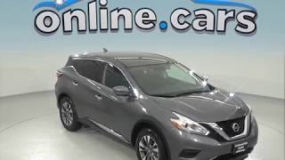 A96828TA Used 2017 Nissan Murano Sport Utility Gray Test Drive, Review, For Sale