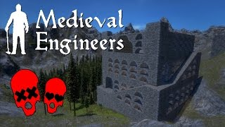 Tower of Babylon Part 2 | Building Vader Hall #21 | Medieval Engineers