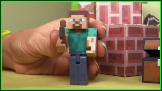 Minecraft - Steve's CASTLE GAME Demo! xBox ipad apps (xe tải lớn/รถบรรทุกขนาดใหญ่) ABC 123