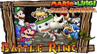 Mario & Luigi Paper Jam - All Bosses Battle Ring (Hard Mode) | Secret Boss & Boss Medley (Boss Rush)