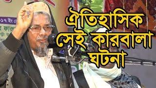 ঐতিহাসিক সেই কারবালা ঘটনা ইন্ডিয়ার বক্তা বাংলাদেশ কে কাদালেন Abul kalam azad