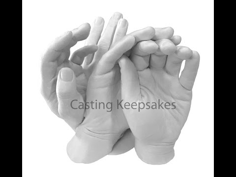 Luna Bean Keepsake Hands  XL  Family or Group Casting How To