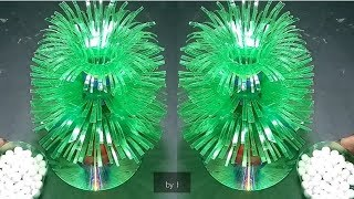 Make wonderful flower / Empty plastic bottle vase making craft || water bottle recycle flower vase.