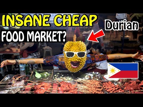 CHEAPEST FILIPINO STREET FOOD MARKET – DAVAO [VLOG#32]