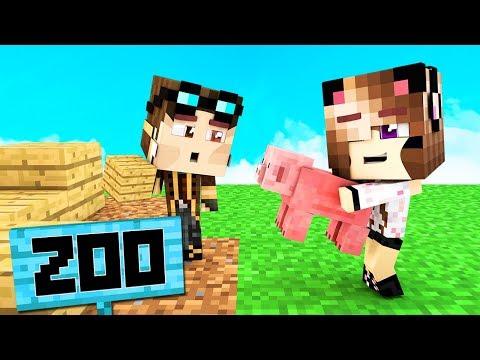 COSTRUIAMO UNO ZOO SU MINECRAFT! - Casa di Minecraft LIVE