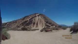 Insane dirtbike Hill Climb in California