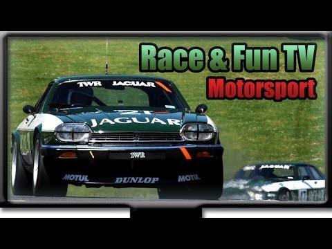 Jaguar XJS - V12 TWR Rennwagen - LAUT und STARK - Donington Historic Festival 2013