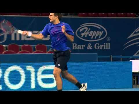 Sofia Open - Highlights from Basic vs Bhambri