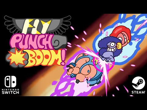 "Fly punch boom! ""ode to punch"" release date trailer - pc & nintendo switch"