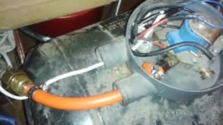Metoda na sprawdzenie szczelności instalacji gazowej.