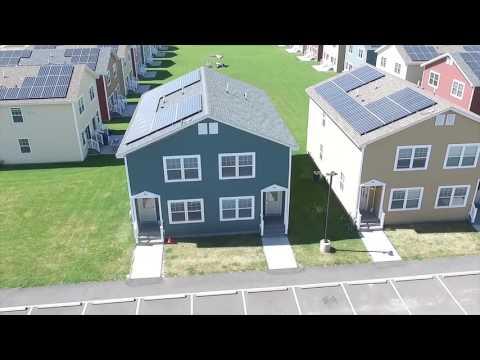 Apex Solar installation video Potsdam New York