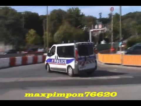 renault trafic police nationale le havre 76 youtube. Black Bedroom Furniture Sets. Home Design Ideas