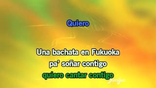 Karaoke Bachata en Fukuoka - Juan Luis Guerra *