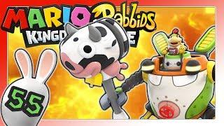 MARIO + RABBIDS KINGDOM BATTLE Part 55: Robo-Jr. Battle