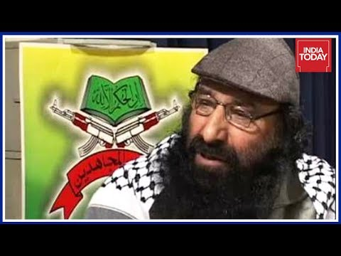 U.S Designates Hizbul Chief, Syed Salahuddin As Global Terrorist Ahead Of Modi-Trump Meet